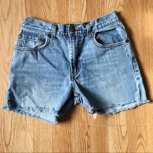 Levi's 527 Cutoff Shorts